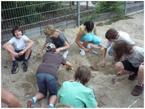 Sich einmal fühlen wie ein Archäologe bei Ausgrabungen mit dem Museumsverein.
